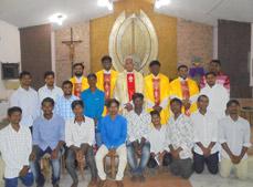 Priesterseminar in Indien