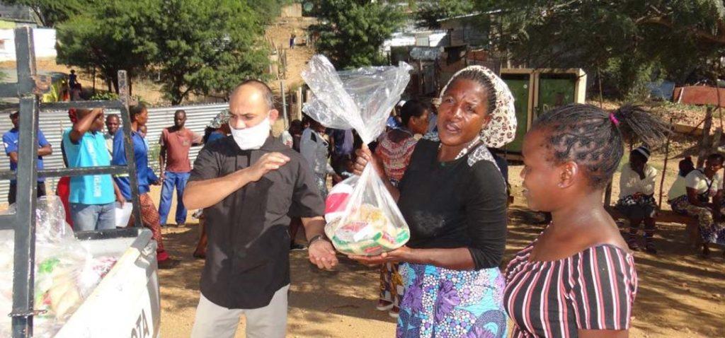 Corona aid Africa