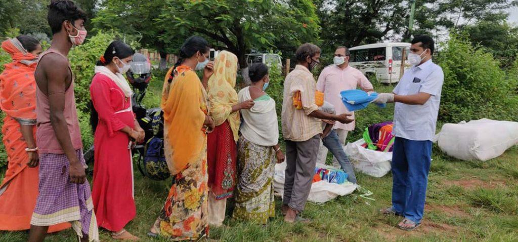 Corona aid India